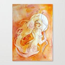 Goddess of Sagittarius - A Fire Element Canvas Print