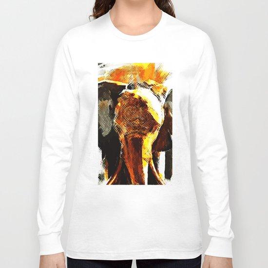 INDI ELEPHANT Long Sleeve T-shirt