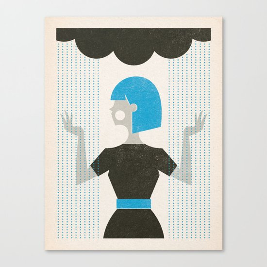 Over the Weather Canvas Print