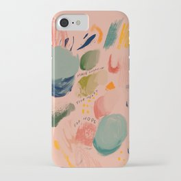 Make Room In Your Heart For Hope iPhone Case