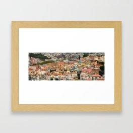 Lisbon From Above Framed Art Print