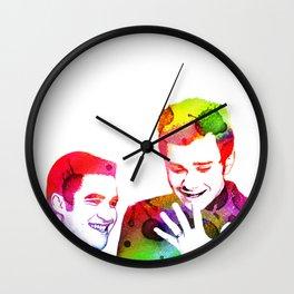 Joy in Color Wall Clock