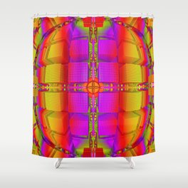 orderoundocube Shower Curtain