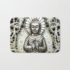 Silver Buddha Bath Mat