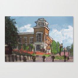Oscar's Campus 6 Canvas Print