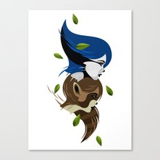 Modecate and Rigbelle Canvas Print