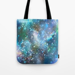 Casting Wishes/First Snowfall Tote Bag