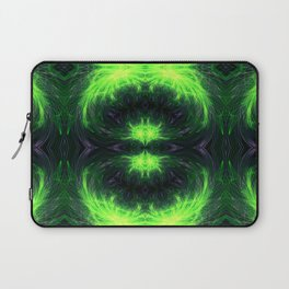 Psychedelic geometry pattern (Acid session vol.1) Laptop Sleeve