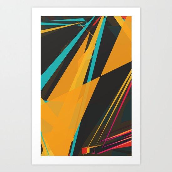 Linez Art Print