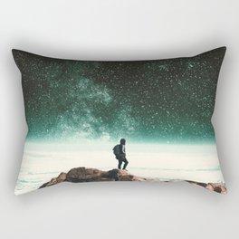 Intergalactic Adventure Awaits Rectangular Pillow