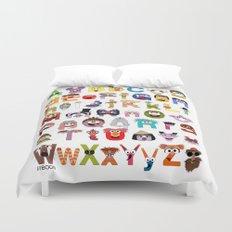 Sesame Street Alphabet Duvet Cover