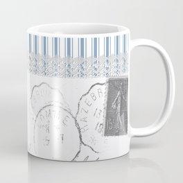 Lucienne in Blue Coffee Mug