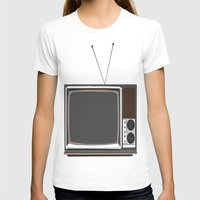 tv T-shirts featuring Television by Jarom Ward