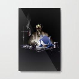 Re-Animating Sonic Metal Print