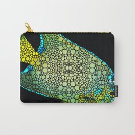 Tropical Fish Art 8 - Abstract Mosaic By Sharon Cummings Carry-All Pouch