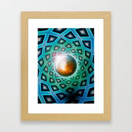 Nucleus Framed Art Print