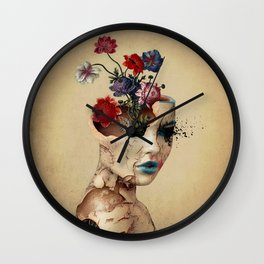 Broken Beauty Wall Clock