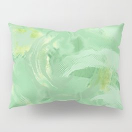 Minty Green Pillow Sham