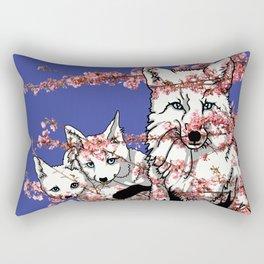 Spring Fox Rectangular Pillow