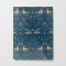 """William Morris """"Birds"""" 1. Metal Print"""