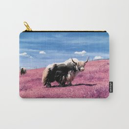 Pink Yack Carry-All Pouch