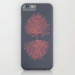 Tree Art. Hands Giving, Hands Receiving 111-24CW4 iPhone Case