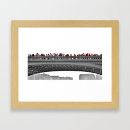 Southwalk Bridge, London. Framed Art Print