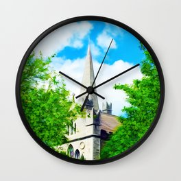 saint sky sinners Wall Clock