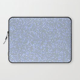 Blue Triangles Laptop Sleeve
