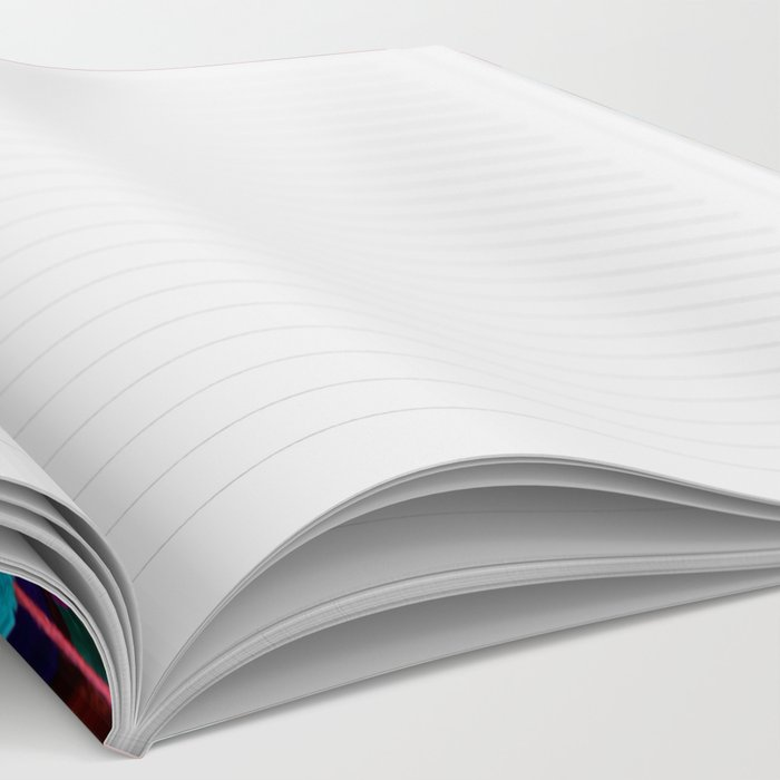 Rainbow Pom-poms (Horizontal) Notebook