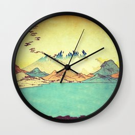 Upon Arrival at Dekijin Wall Clock