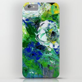 Abstract Floral - Botanical iPhone Case