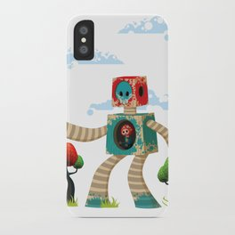 Woody Mecha iPhone Case
