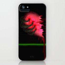 Ripped Heart iPhone Case
