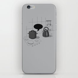 What did you call me?! iPhone Skin