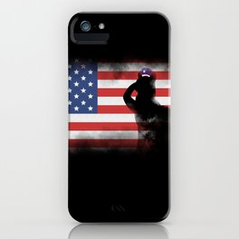 Honor Our Heroes On Memorial Day iPhone Case