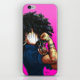 Naturally the Riveter PINK  iPhone Skin