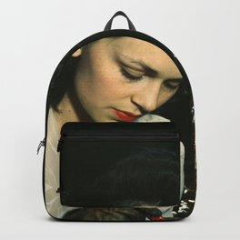 WWII Woman Aircraft Worker Backpack