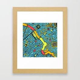 Infinite City - Summer Framed Art Print