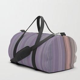 Purple Pantone Modern Stripes Duffle Bag