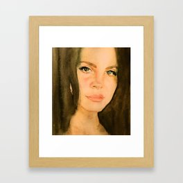 Lana 2 Framed Art Print