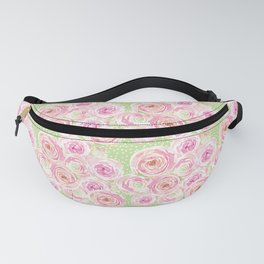 Blush Pink Bouquet Fanny Pack