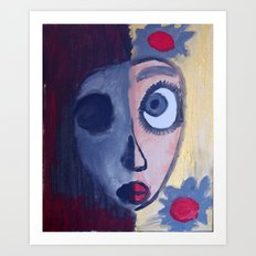 Two Sided Art Print