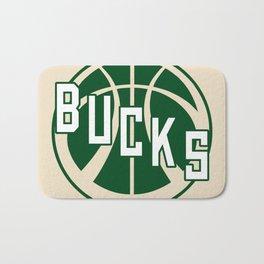 Bucks creme Bath Mat