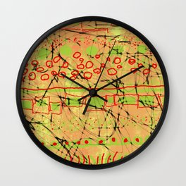 Patty Cake 2 without the frosting Wall Clock