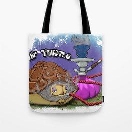 Tokin' Turtle Tote Bag