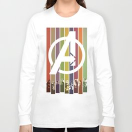 VINTAGE OF ULTRON Long Sleeve T-shirt