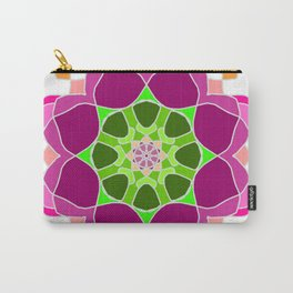 Mandala in crazy colors Carry-All Pouch