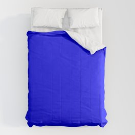 RETRO BRIGHT BRILLIANT BLUE Comforters