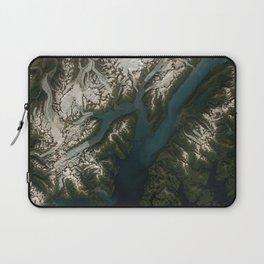 College Fjord, Prince William Sound, Alaska Laptop Sleeve